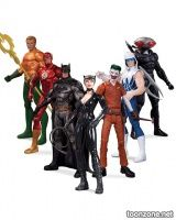 DC COMICS—THE NEW 52 SUPER HEROES VS. SUPER-VILLAINS ACTION FIGURE 7-PACK