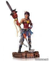 INFINITE CRISIS: ATOMIC WONDER WOMAN STATUE