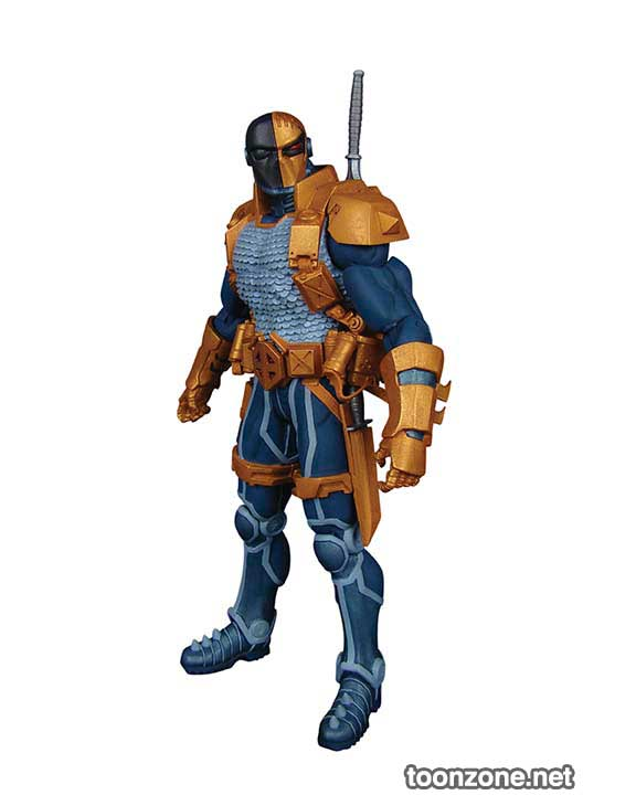 DC COMICS—SUPER-VILLAINS DEATHSTROKE ACTION FIGURE