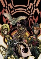 JSA LIBERTY FILES: THE WHISTLING SKULL TP