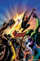 MIGHTY AVENGERS #1 (Bryan Hitch Variant)
