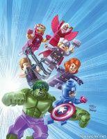 MARVEL UNIVERSE AVENGERS ASSEMBLE #1 (LEGO Variant)