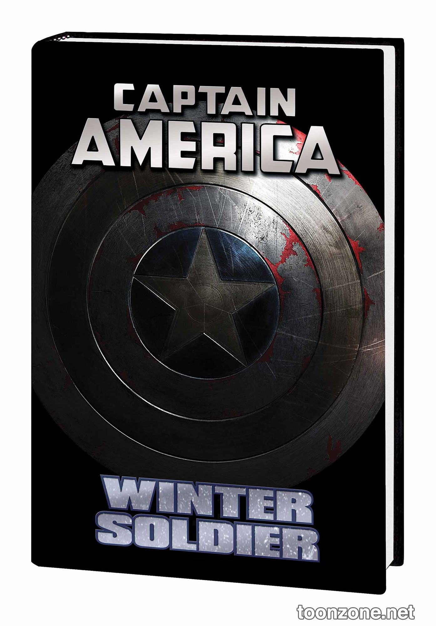 CAPTAIN AMERICA: WINTER SOLDIER HC MOVIE COVER
