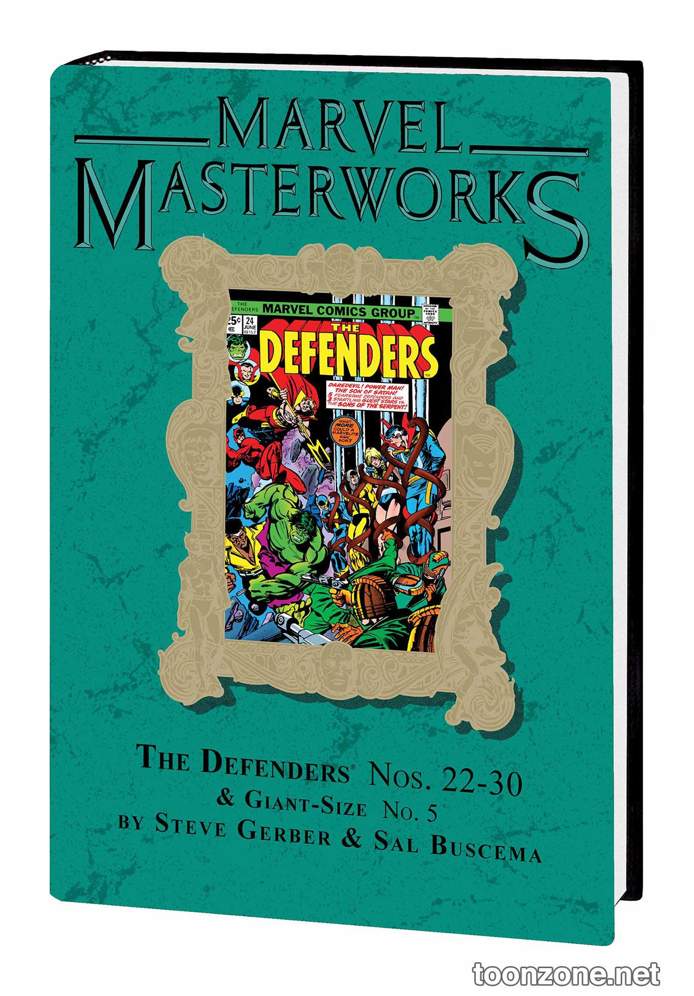 MARVEL MASTERWORKS: THE DEFENDERS VOL. 4 HC — VARIANT EDITION VOL. 203 (DM ONLY)