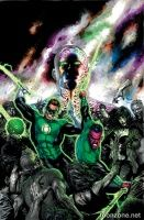 GREEN LANTERN: WRATH OF THE FIRST LANTERN HC