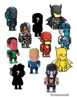 SCRIBBLENAUTS UNMASKED MINI FIGURES BLIND BOXES SERIES 2