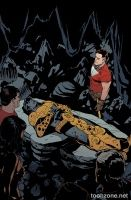 TOM STRONG AND THE PLANET OF PERIL #6