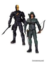 OLIVER QUEEN & DEATHSTROKE ACTION FIGURE 2-PACK