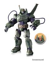 DC COMICS SUPER-VILLAINS ARMORED SUIT LEX LUTHOR DELUXE ACTION FIGURE LEX LUTHOR – 8.5
