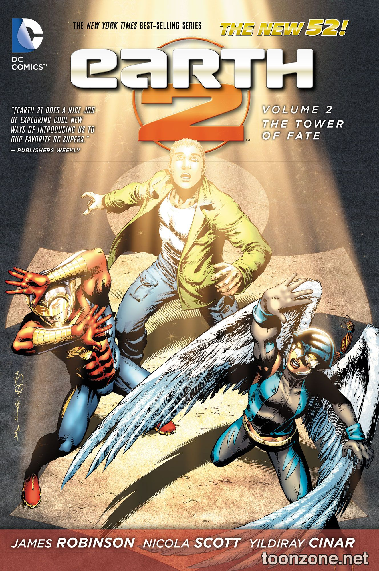 EARTH 2 VOL. 2: THE TOWER OF FATE TP