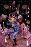 BLACK CANARY AND ZATANNA: BLOODSPELL HC