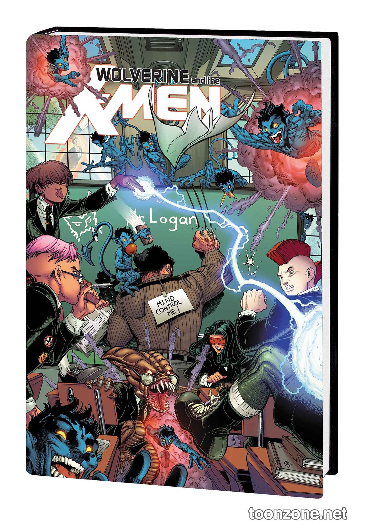 WOLVERINE AND THE X-MEN BY JASON AARON OMNIBUS HC