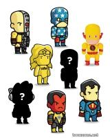 SCRIBBLENAUTS UNMASKED MINI FIGURES BLIND BOXES SERIES 3