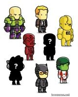 SCRIBBLENAUTS UNMASKED MINI FIGURES BLIND BOXES SERIES 4