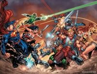 DC UNIVERSE VS. THE MASTERS OF THE UNIVERSE TP