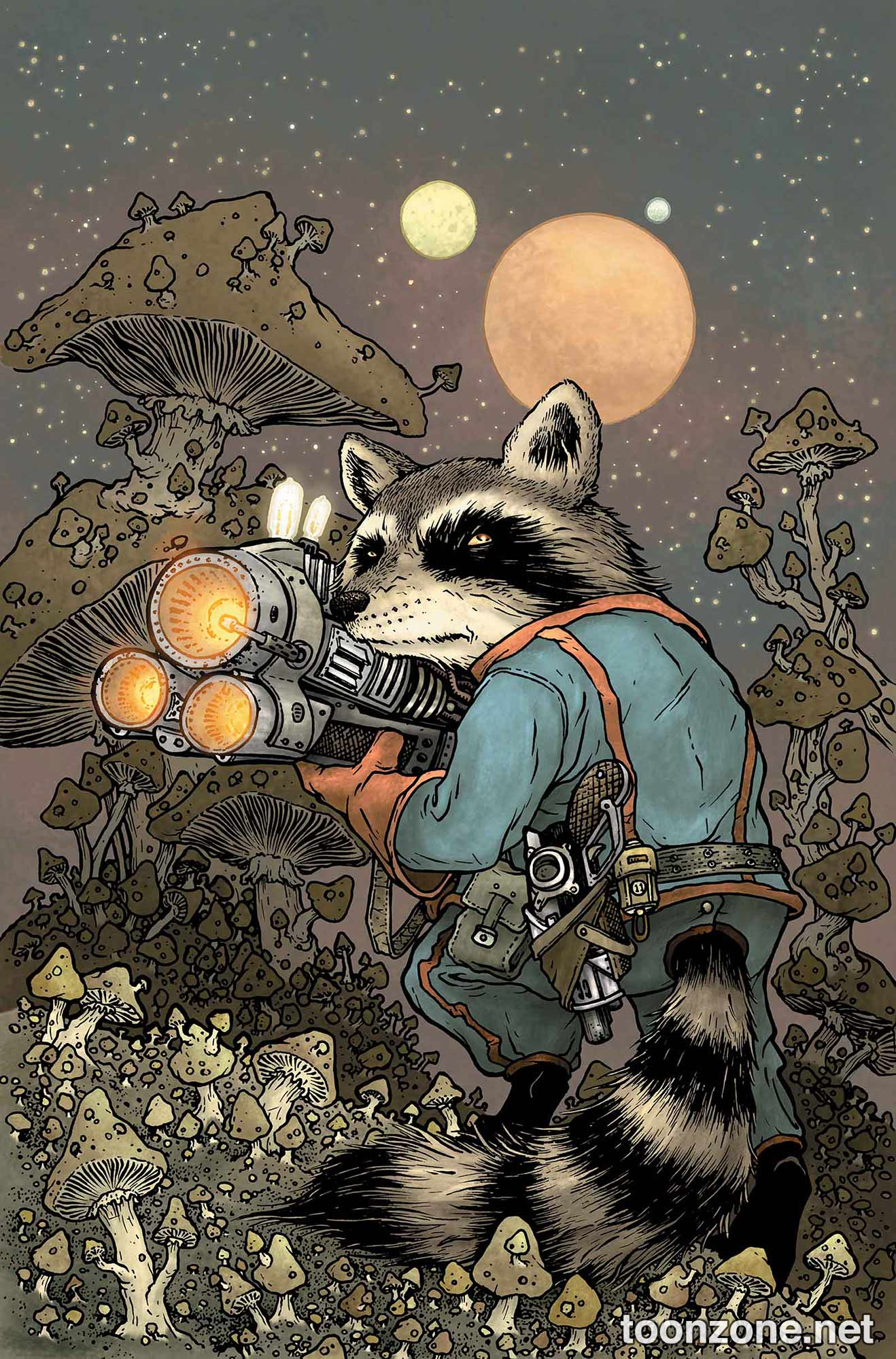 ROCKET RACCOON #1 (David Petersen Variant)