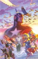 CAPTAIN AMERICA #22 (Alex Ross Variant)