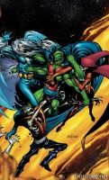 MARTIAN MANHUNTER: RINGS OF SATURN TP