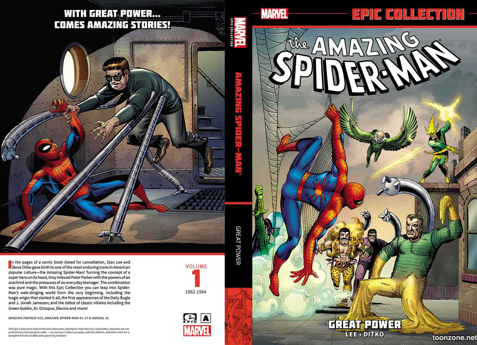 AMAZING SPIDER-MAN EPIC COLLECTION: GREAT POWER TPB
