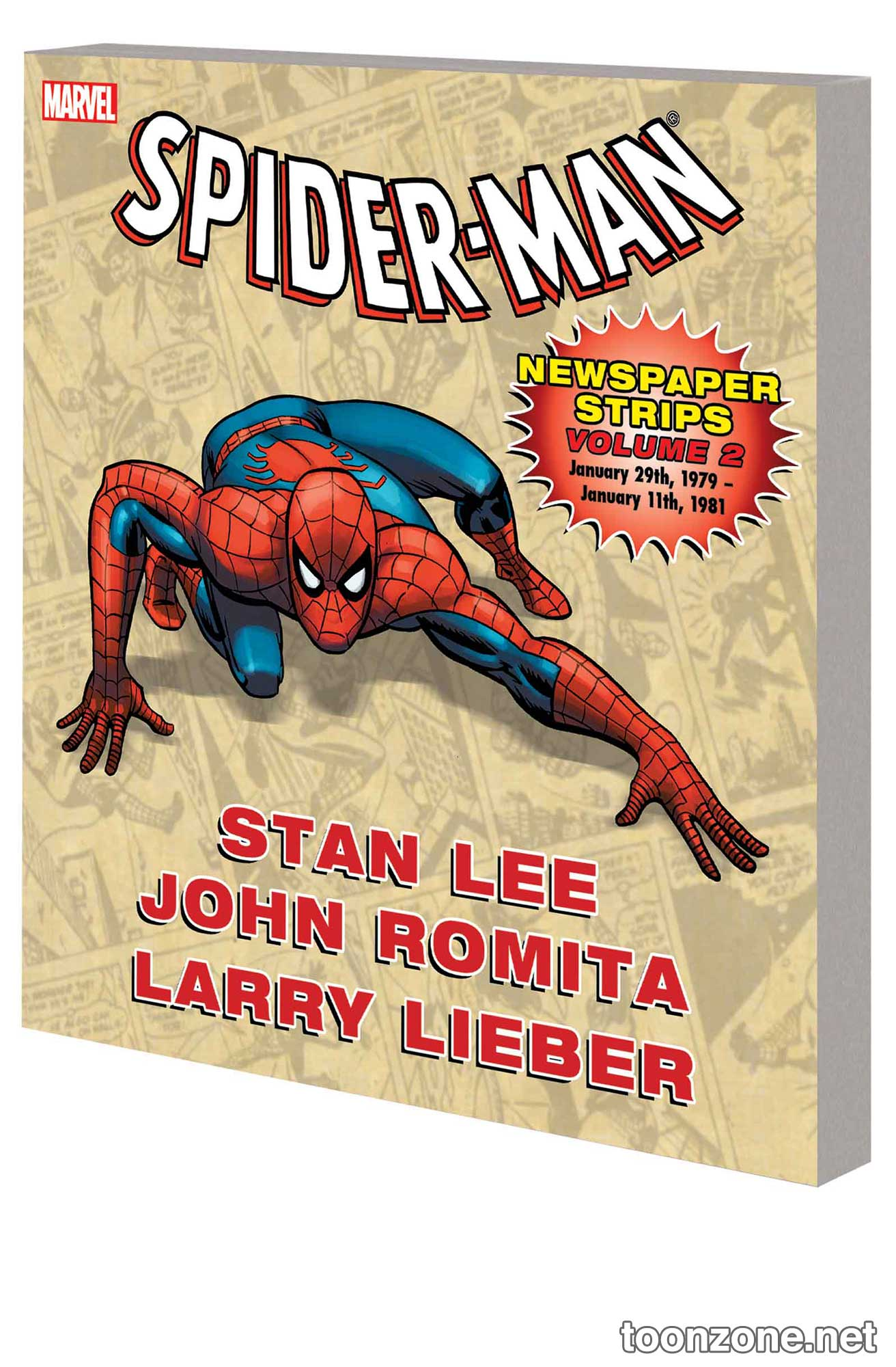 SPIDER-MAN NEWSPAPER STRIPS VOL. 2 TPB