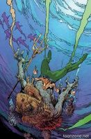 AQUAMAN #35 (Mark Nelson Monsters Variant)