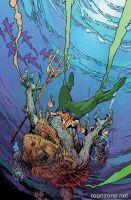 AQUAMAN #35 (Mark Nelson Monsters Variant)