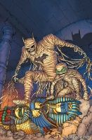 BATMAN AND ROBIN #35 (Chris Burnham Monsters Variant)
