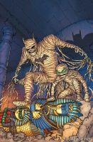 BATMAN AND ROBIN #35 (Chris Burnham Monsters Variant)