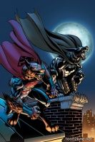 BATMAN/SUPERMAN #15 (Jon Bogdanove Monsters Variant)
