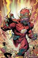 THE FLASH #35 (Ryan Ottley Monsters Variant)