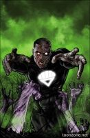 GREEN LANTERN CORPS #35 (Mikel Janin Monsters Variant)