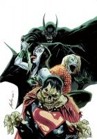 JUSTICE LEAGUE #35 (Rafael Albuquerque Monsters Variant)