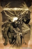 JUSTICE LEAGUE DARK #35 (Erik Gist Monsters Variant)