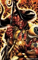 SINESTRO #6 (Bart Sears Monsters Variant)