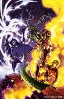 TEEN TITANS #3 (Gene Ha Monsters Variant)