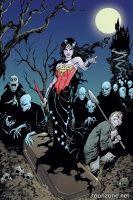 WONDER WOMAN #35 (Aaron Lopresti Monsters Variant)