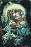 SUPERMAN/WONDER WOMAN #12 (Bill Sienkiewicz Monsters Variant)