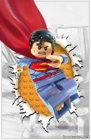ACTION COMICS #36 (LEGO Variant Cover)
