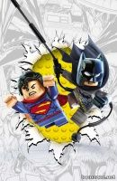 BATMAN/SUPERMAN #16 (LEGO Variant Cover)