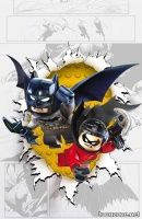 BATMAN AND ROBIN #36 (LEGO Variant Cover)