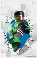 GREEN LANTERN CORPS #36 (LEGO Variant Cover)