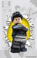 GRAYSON #4 (LEGO Variant Cover)