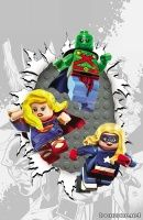 JUSTICE LEAGUE UNITED #6 (LEGO Variant)