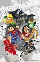 JUSTICE LEAGUE #36 (LEGO Variant)