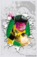 SINESTRO #7 (LEGO Variant Cover)