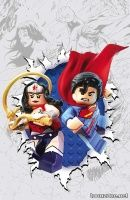 SUPERMAN/WONDER WOMAN #13 (LEGO Variant Cover)
