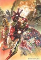 SUPERIOR IRON MAN #1 (Alex Ross Variant)
