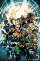 AQUAMAN AND THE OTHERS VOL. 1: LEGACY OF GOLD TP