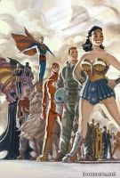 DC: THE NEW FRONTIER DELUXE EDITION HC