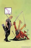 HAWKEYE VS. DEADPOOL #3 (OF 5)
